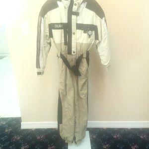 Colmar Italian Ski-Suit Beige Hood (XS)
